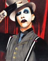Marilyn Manson - The Golden Age of Grotesque by Dango-ojousama
