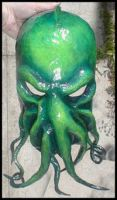 Cthulhu mask by BanTheRipper