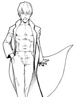 Kise Ryouta in Vampire Costume by camp6boy