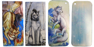 Bookmark Commissions batch by Capukat