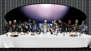 The Last Supper 2.0 by J4N3M3