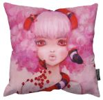 Innocent Eve Pillow by camilladerrico