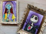Jack and Sally Muertos by MayhemHere