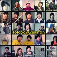 Collage Hola Soy German :3 by AnnaEditions