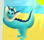 Vaporeon by Leafysnivy