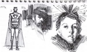 3 by 5 sketchbook page 6 by FUNKYMONKEY1945