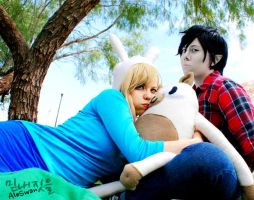 Fionna/Cake/Marshall - Adventure Time by DoikoKhano