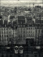 Paris under the rain by SUDOR