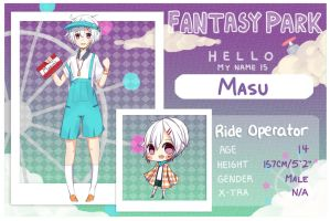 .:FP Application:. Masu by Kururu245