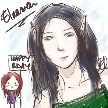 Gift Elnawen by Flore-chan