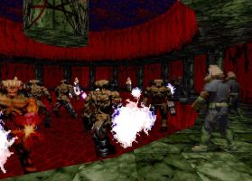 Doom: Cyber Arena 1 by Starmansurfer