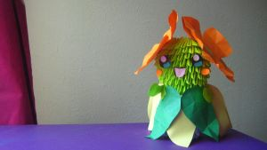 3D Origami Bellossom by iBeautyLovely