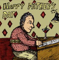 Fathers Day Card by StickstoMagnet
