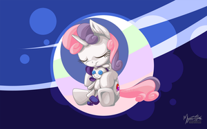 Sweet Dreams Sweetie Belle by mysticalpha