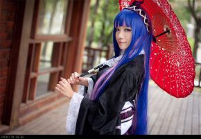 PSG_Stocking in Kimono by WinryDeeDee