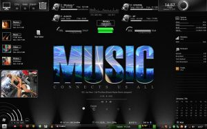 RAINMETER MUSIC by gabrielonefm
