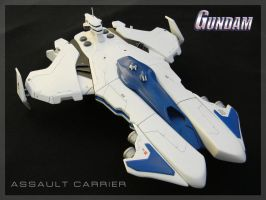 Gundam Assault Carrier Concept Model by zanderwitaz