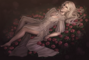 bed of roses by adelruna