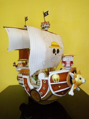 mfnst papercraft -  Thousand Sunny  Luffy by mfnst