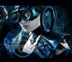 Cyber vampire - recycled objects by ValentinaKallias