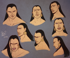Rykeer Expressions by Lavahanje