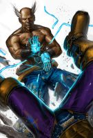 heihachi vs king by ameeeeba