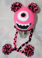 Pink Mike Wazowski by rainbowdreamfactory