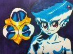 LoZ OoT Princess Ruto ACEO by kawaiidchan