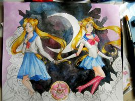 Sailor Moon (WIP) by MauroStrange