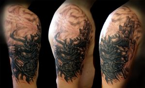 warrior cover by phoenixtattoos