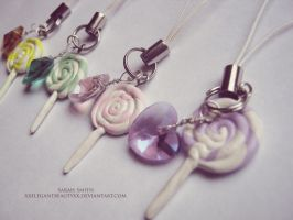 sweet lollipop charms by xxelegantbeautyxx