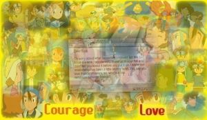 Courage and Love Graphic by Hao-SamaFangirl