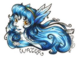 Water goddess by SS-Chan