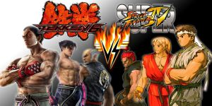 Tekken Vs. Street fighter by kyo4455