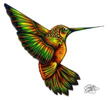 Hummingbird of the Nile by spookyspittle
