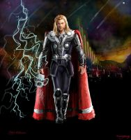 For Asgard-Thor Odinson by waspany