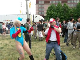 Time to D-D-D-D-D-DDDDD-POKEMON BATTLE SF STYLE! by CosplayButterfly