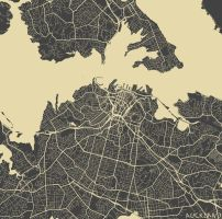 Auckland by MapMapMaps
