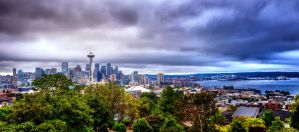 Grays of Seattle by UrbanRural-Photo