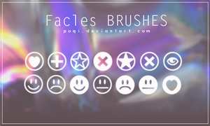 {Facles - Brushes} by Poqi