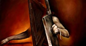 Pyramid Head - Iscribble by SilentIvo