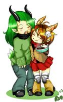 Gaia- Hugs For Criss by thedandmom
