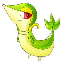 Snivy by NeverWastedTime