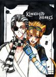 Xigbar and Demyx - KH by SiliceB