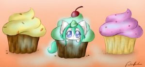 Cupcakes by SpectralPony