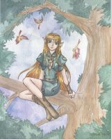 In the Trees... by RiaStarchild