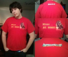 Awesomenauts T-Shirt (Yuri) by SparklesStorm