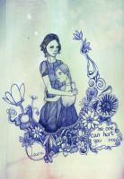 Katniss and Prim: no one can hurt you now by EowynLaurelin