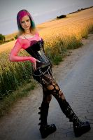 goth at cornfield by Atorka02