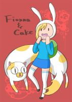 Fionna and Cake by oversoul4
